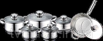 Набор посуды Royalty Line RL 1231М + ключ Leifheit