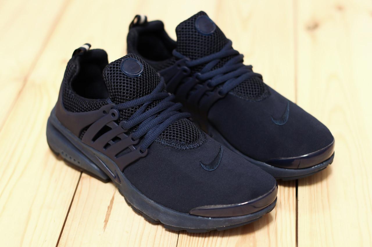 60eb14da374a Кроссовки мужские летние сетка Nike Air Presto blue (найк аир престо)  (реплика)