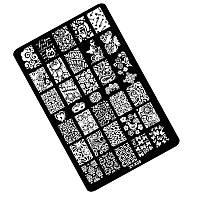 Пластиковая пластина для стемпинга K08 (9.5*14.5) Kodi