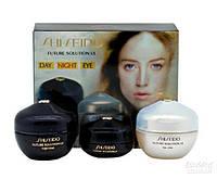 Shiseido Future Solution LX, косметический набор 3 в 1