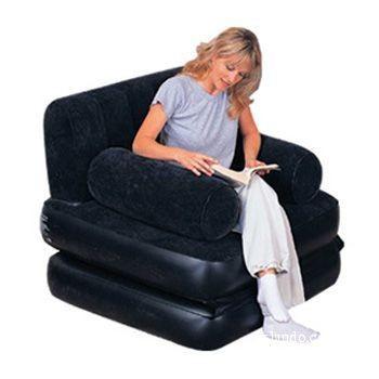 Надувное кресло-трансформер 2 в 1 Bestway 67277