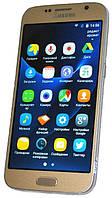 Смартфон Samsung Galaxy S7 копия 2 ядра золотой