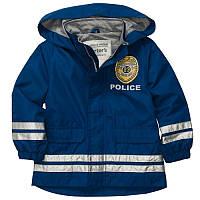 Куртка - дождевик ветровка мальчик Полицейский синяя (c213848-ct)
