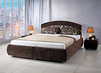 Кровать двуспальная Ванесса с подъёмным механизмом (Газ-лифт).