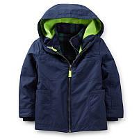 Куртка 3 в 1 демисезонная мальчик синяя Carters (c2146x14)