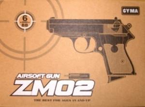 Детский пистолет металический
