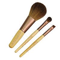 Мини набор кистей для макияжа EcoTools - 3 в 1 Mini Essential Set