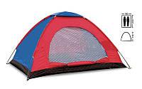 Палатка универсальная 2-х местная  (р-р 2х1,5х1,1м, PL) SY-004