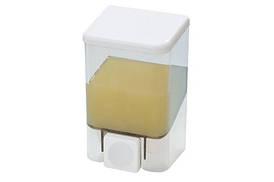Дозатор для рідкого мила, 0,5 л прозорий