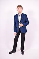 Пиджак классический для мальчика Slim Fit (color 001) Palmiro Rossi 123/001 Рост:134