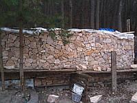 Бутовый забор бесшовная кладка, Киев (Вышгород), фото 1