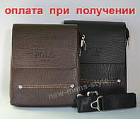 Мужская кожаная сумка фирменная Polo НОВИНКА!!!