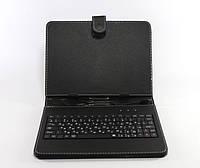 Чехол с клавиатурой для планшета 8 дюймов micro usb Black