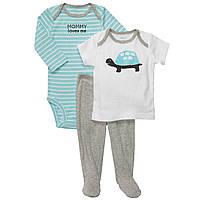 Детский комплект для новорожденного 3, 6, 9 месяцев
