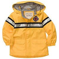 Куртка-дождевик ветровка желтая мальчик Пожарник (c213847-ct)