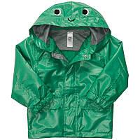 """Куртка-дождевик ветровка зеленая """"Лягушонок"""". Carters (c212e72) мальчик"""