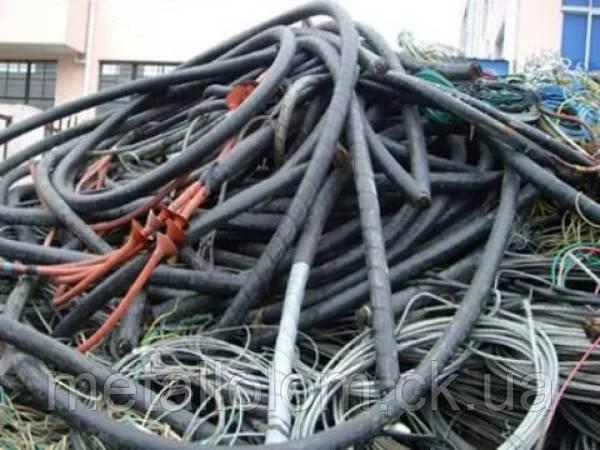 Переработка силовых кабелей.