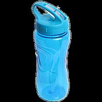 Бутылка для воды 600 мл со складываемым мундштуком
