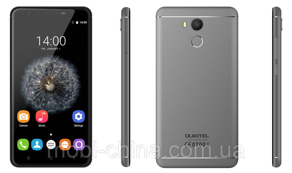 Смартфон Oukitel U15 PRO 3 32GB Black