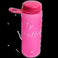 """Бутылка для воды """"My bottle"""" , 4 цвета, 500 мл, фото 1"""