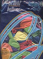 """Воздушные шары оптом 12"""" (30 см) пастель, ассорти"""