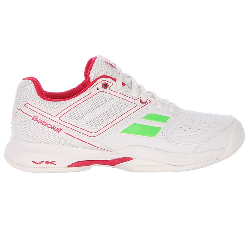 Кроссовки теннисные женские BABOLAT Pulsion BPM AC white/pink (31S1597/184)