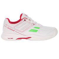 Кроссовки теннисные женские BABOLAT Pulsion BPM AC white/pink (31S1597/184), фото 1