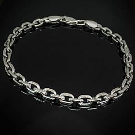 Срібний браслет, 205мм, 14 грам, плетіння Якір