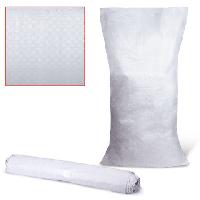 Полипропиленовые мешки белые для фасовки 50х70 60г.