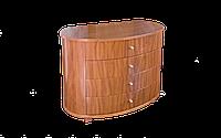Комод класический, индивидуальный, уникальный, гнутые фасады размером 110х55х83 см Меркурий