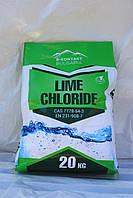 Известь хлорная, хлорне вапно, хлорка, гипохлорит кальция Болгария 1 сорт 28% хлора в мешках по 20 к, фото 1