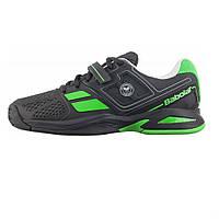 Кроссовки теннисные детские BABOLAT Propulse BPM AC Junior black/green (33S1577/166), фото 1