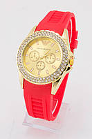 Наручные женские часы Emporio Armani  4 ярких цвета
