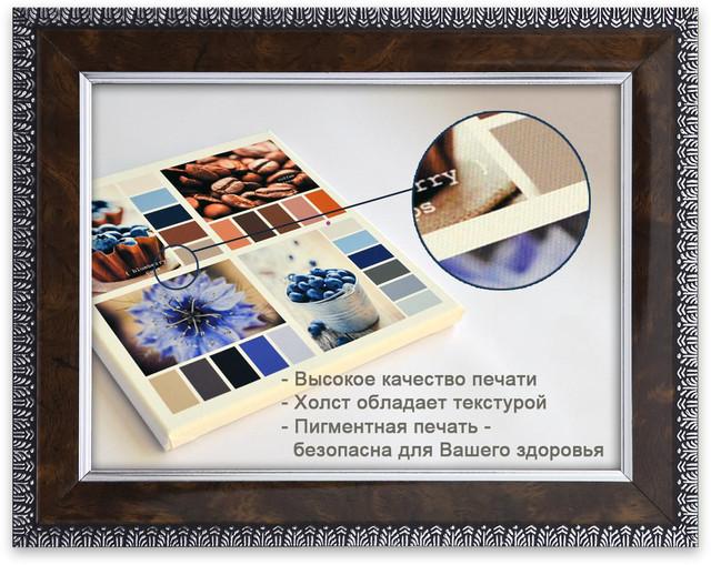 Печать картин на текстурном холсте