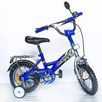 "Велосипед 2-х колес 12'' 101204 ""Орленок"" Син"