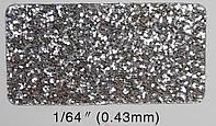 Глиттер серебряный TS 001 1/64''