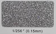 Глиттер серебряный TS 001 1/256''