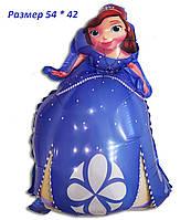 Воздушный шарик Принцесса София прекрасная 54 х 42 см из полимерной пленки