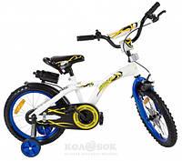 "Велосипед детский Babyhit Eagle 16"" White/Blue"
