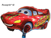 Фольгированный воздушный шарик Тачки Молния Мак Куин 64 х 42 см
