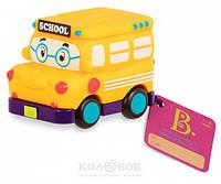 Машинка инерционная серии Забавный автопарк Школьный Автобус Battat