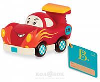 Машинка инерционная серии Забавный автопарк  Гоночная Машинка Battat