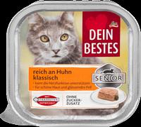 Dein Bestes Senior Nassfutter Паштет для пожилых кошек 100 г (Германия)