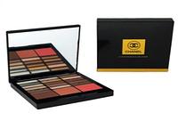 Тени для век Chanel 15 цветов + румяна (палитра 6 тонов)