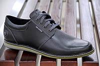 Туфли натуральная кожа очень хорошее качество мужские черные молодежные Харьков. Со скидкой