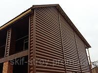 Сайдинг металлический блок хаус: золотой дуб! Скидки на объемах!, фото 4