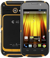 "ZTE Telstra T83 black-yellow IP67 1/4 Gb, 4"""