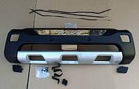 Накладка переднего бампера на Toyota RAV4 (2006-...), фото 1