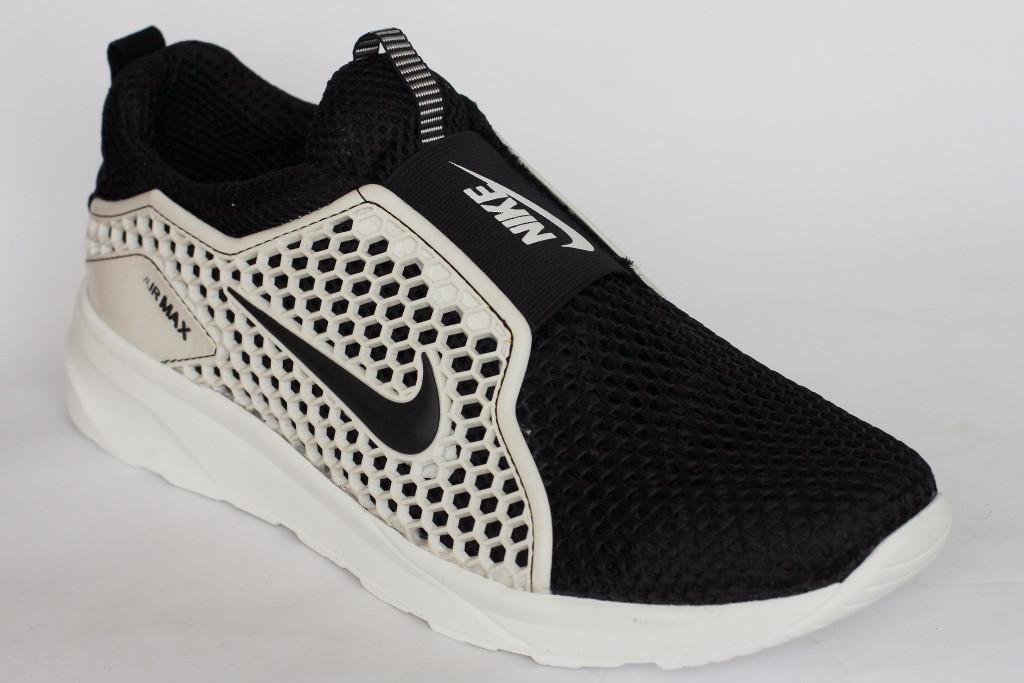 Кроссовки летнее  Kostin-Nike черные с белим