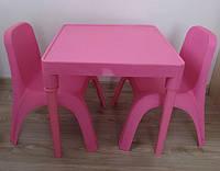 Набор детской пластиковой мебели. Разные сочетания цветов